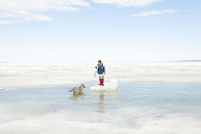Evgenia Arbugaeva. From the Tiksi series, 2012.