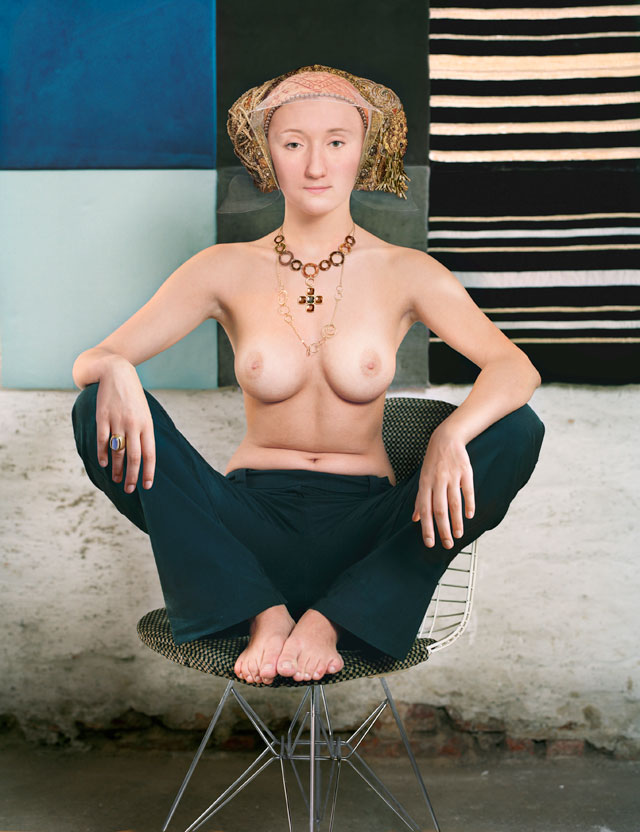 Dorothee Golz. Anne of Cleves (Anna von Kleve), from the series Digital Paintings (Digitale Gemalde), 2007. Photograph.