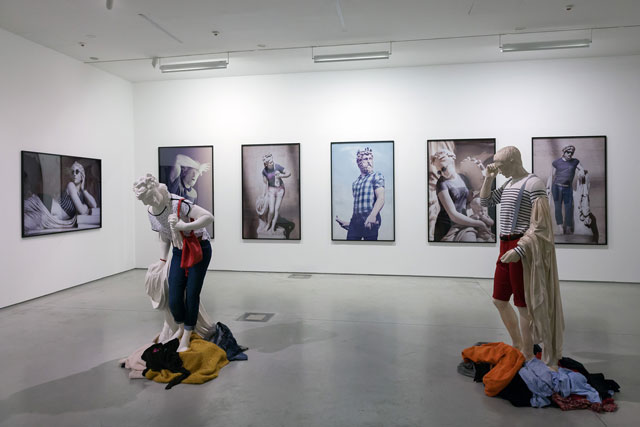 Art in Art, exhibition view, MOCAK. Photograph: R Sosin.