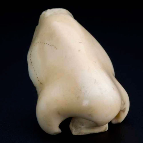 R for RESOURCEFULNESS. Ivory artificial nose, Europe, 1701-1800 © Science Museum/Wellcome Library