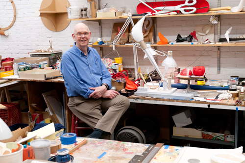 Claes Oldenburg, New York, 2011. Photograph by D. James Dee. Courtesy Yale University Press.