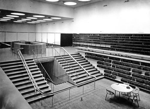 Alvar Aalto. Viipuri library – main reading room.