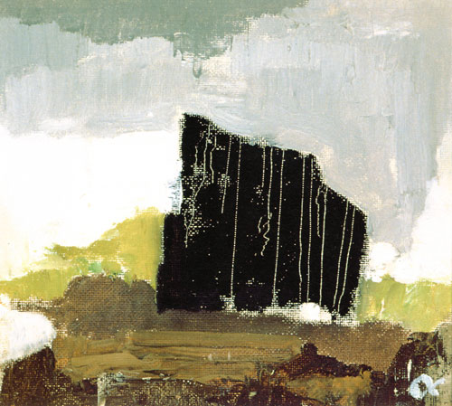 Aalto and the form-affinity to nature: Alvar Aalto. Untitled oil painting, 1963.