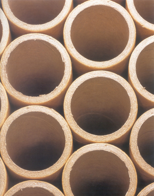Shigeru Ban. Paper tubes, detail. Courtesy of Shigeru Ban Architects © Takashi Sekiguchi