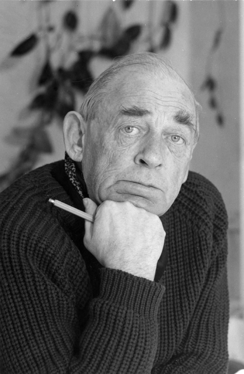 Alvar Aalto in the 1970s. Image courtesy of the Alvar Aalto Museum, Jyväskylä © Eva and Pertti Ingervo