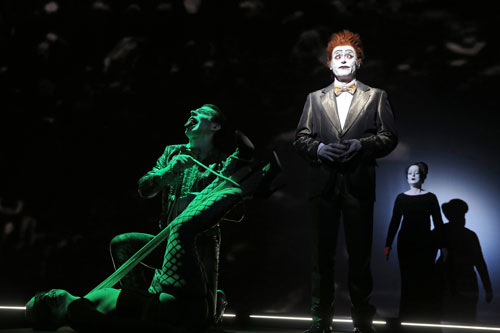 Willem Dafoe in The Life and Death of Marina Abramović at Park Avenue Armory (2). Photograph: Joan Marcus.