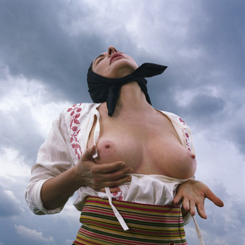 Marina Abramović. <em>Balkan Erotic Epic</em>, 2005. Four-channel video (colour, sound). 21:36 minutes.
