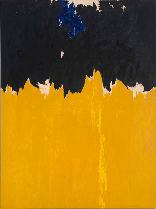 Clyfford Still, PH-950, 1950. Oil on canvas, 233.7 x 177.8 cm. Clyfford Still Museum, Denver © City and County of Denver / DACS 2016. Photograph courtesy the Clyfford Still Museum, Denver, CO.