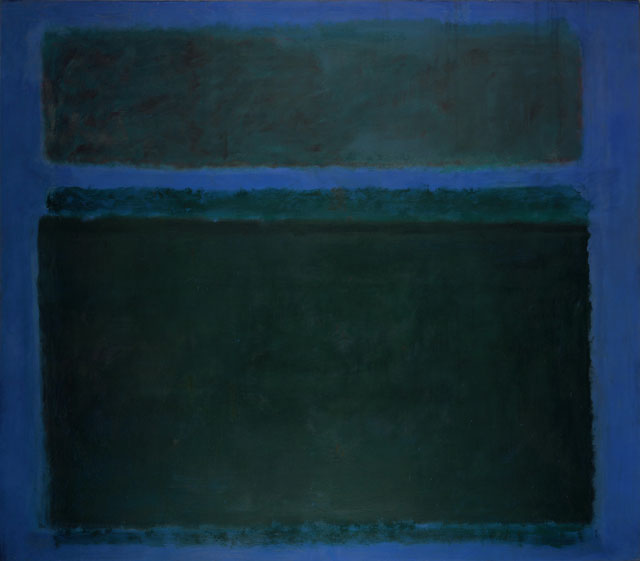 Mark Rothko. No. 15, 1957. Oil on canvas, 261.6 x 295.9 cm. Private collection, New York. © 1998 Kate Rothko Prizel & Christopher Rothko ARS, NY and DACS, London.