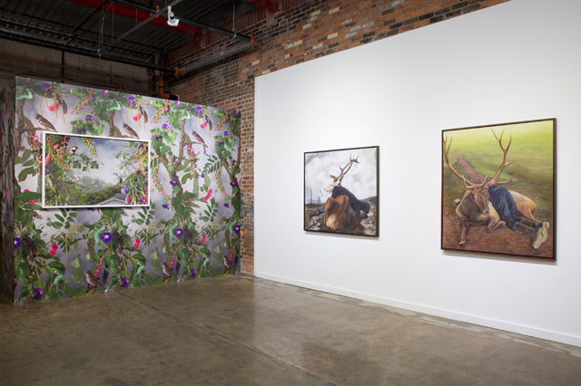 After Industry, installation view, Wasserman Projects, 2017. Detroit. Photograph: PD Rearick. Courtesy of Wasserman Projects.