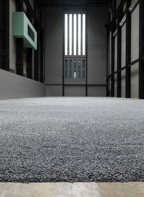 <p>Ai Weiwei. <em>Sunflower Seeds, </em>2010. © Ai Weiwei. Photo: Tate Photography.