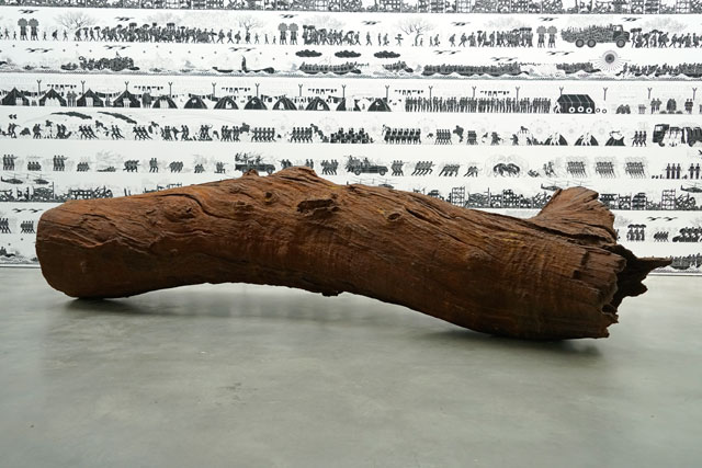 Ai Weiwei: 2016 Roots and Branches. Installation view, Lisson Gallery, New York City. Photograph: Miguel Benavides.