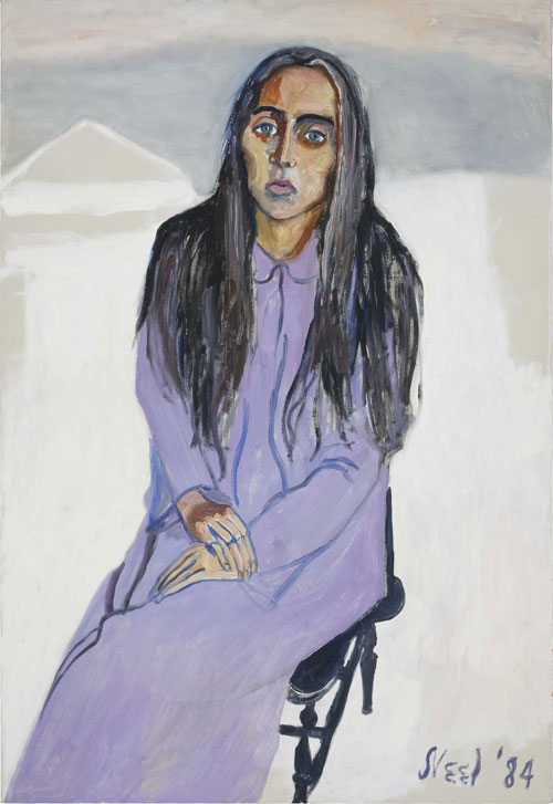 <p>Alice Neel.<em> Ginny, </em>1984. Oil on canvas, 111.8 x 76.2 cm. Estate of Alice Neel.