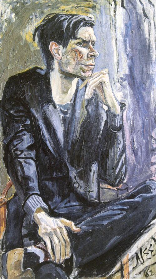 <p>Alice Neel.<em> Robert Smithson, </em>1962. Oil on canvas, 101.6 x 61.6 cm. Private collection, courtesy Locks Gallery, Philadelphia.