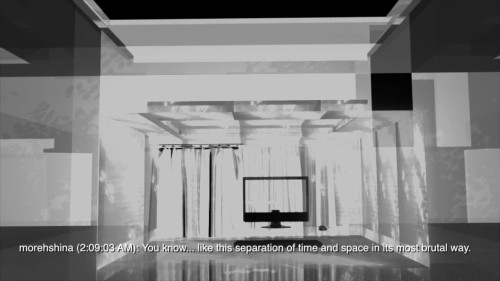 Morehshin Allahyari. In Mere Spaces All Things Are Side By Side, 2014. 3D Animation (5).