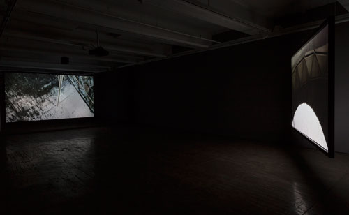 Allora & Calzadilla. The Great Silence, 2014. 3-channel HD video installation (2), 16:22 minutes. Courtesy of the artists. In collaboration with The Fabric Workshop and Museum, Philadelphia. Photograph: Carlos Avendaño.