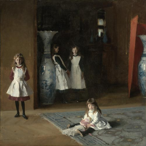 John Singer Sargent (1856-1925). <em>The Daughters of Edward Darley Boit</em>, 1882. Museum of Fine Arts, Boston, Massachusetts, Gift of Mary Louisa Boit, Julia Overing Boit, Jane Hubbard Boit and Florence D Boit in memory of their father, Edward Darley Boit, inv. 19.124 inv. 19.124 © 2003 Museum of Fine Arts, Boston, Massachusetts.