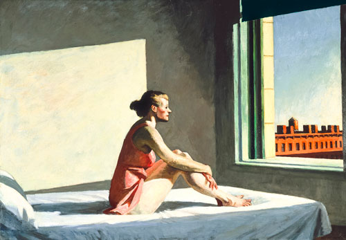 Edward Hopper. Morning Sun, 1952. Oil on canvas, 71.4 x 101.9 cm. Columbus Museum of Art, Ohio: Howald Fund Purchase. © Columbus Museum of Art, Ohio.