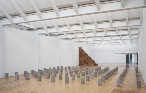 Installation view (3), Carl Andre: Sculpture as Place, 1958–2010, Dia:Beacon, Riggio Galleries, Beacon, New York. 5 May 2014–2 March 2015. Art © Carl Andre/Licensed by VAGA, New York, NY. Photograph: Bill Jacobson Studio, New York. Courtesy Dia Art Foundation, New York.