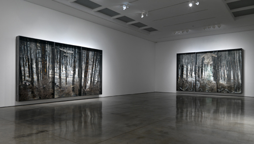 Anselm Kiefer. 'Karfunkelfee', White Cube Mason's Yard, London and 'The Fertile Cresent', White Cube Hoxton Square, 2009.