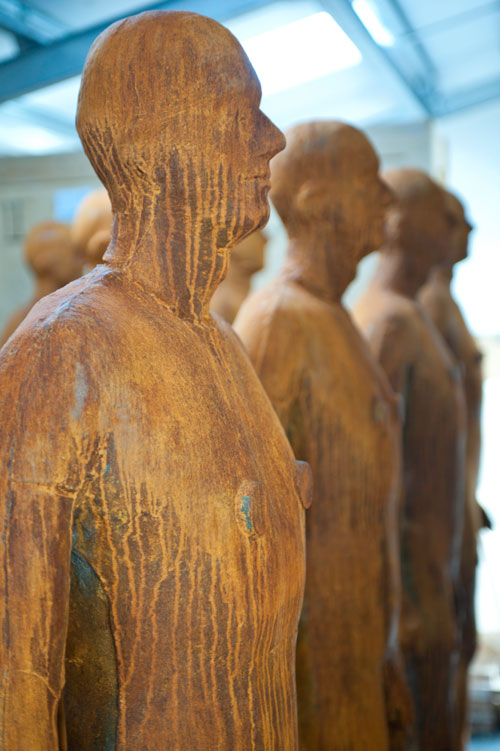 Antony Gormley. Storeroom view 2. Photograph by Nick Howard.