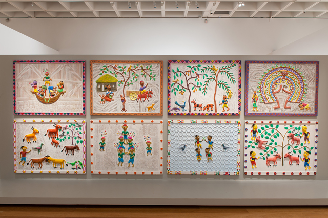 Kalpa Vriksha. Installation view, APT8, Queensland Art Gallery | Gallery of Modern Art, Brisbane.