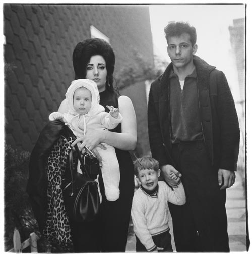 A young Brooklyn family going for a Sunday outing, N.Y.C. 1966. Copyright © 1966 The Estate of Diane Arbus, LLC