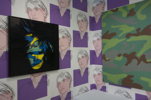 Andy Warhol. Camouflage Works. Gagosian Gallery, New York, NY.