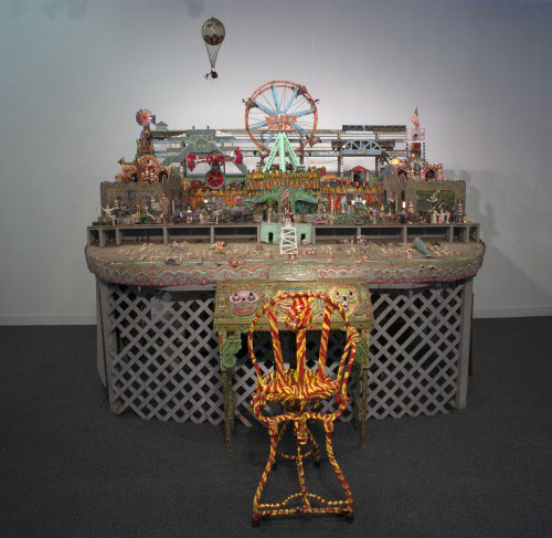 Tom Duncan. Dedicated to Coney Island. Mixed Media. Andrew Edlin Gallery, New York, NY.