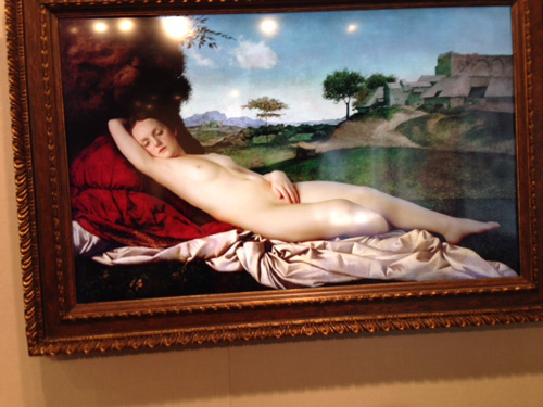 Rob and Nick Carter. Transforming Nude Painting, 2013. 2.5 hour looped film, computer, frame 81 × 119 × 10 cm.