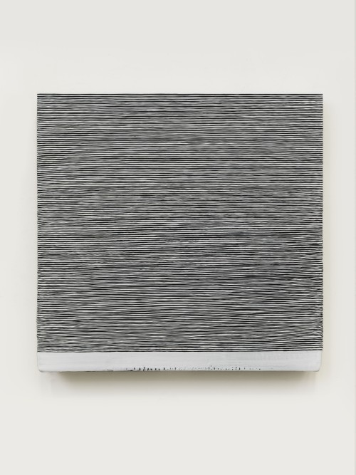 Wang Guangle. 141026, 2014. Acrylic on canvas. 114 x 116 cm. Courtesy of the artist and Beijing Commune
