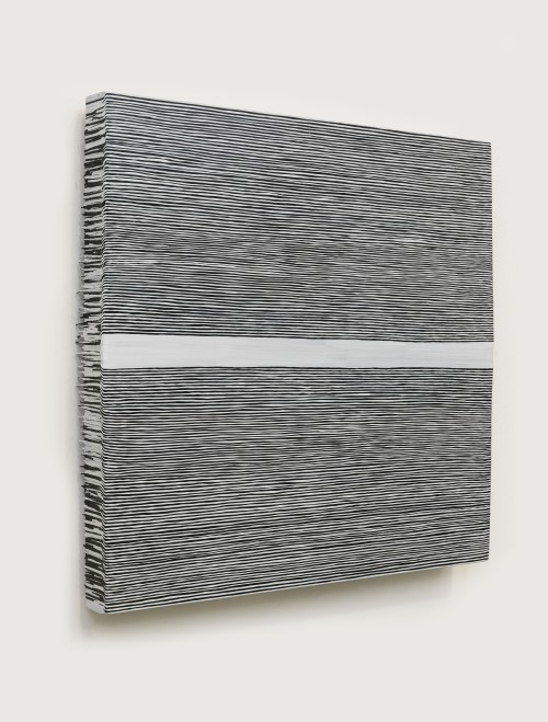 Wang Guangle. 141027, 2014. Acrylic on canvas. 114 x 116 cm. Courtesy of the artist and Beijing Commune