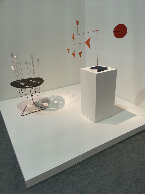 ArtRio 2013. General View: Alexander Calder artwork.