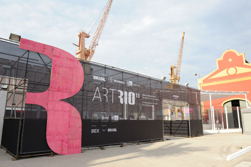ArtRio 2013. Entrance. Photograph: Sergio Greif.