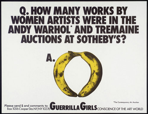 Guerrilla Girls. 