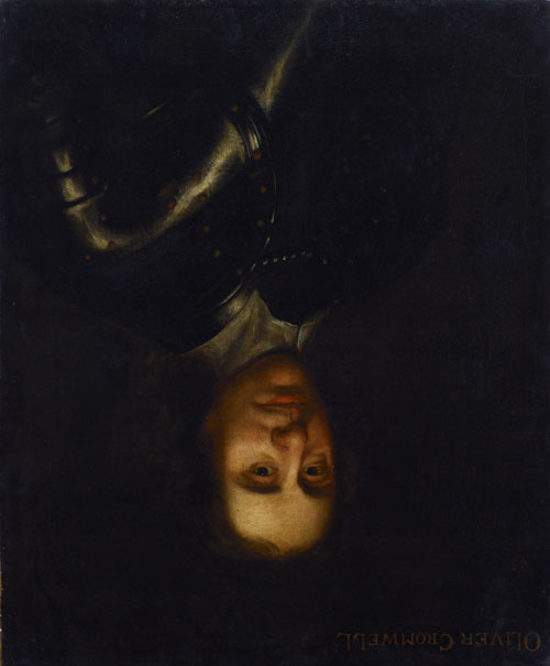 Oliver Cromwell (hung upside down). Highland Council.
