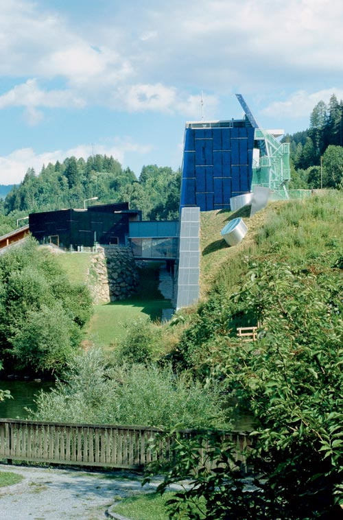 Wolfgang Tschapeller. Building at Murau, 2002. Credit: W Feiersinger.