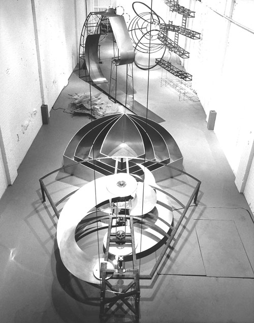 Alice Aycock. The Thousand and One Nights in the Mansion Of Bliss, Part II, The Fortress Of Utopia (Fata Morgana), 1983