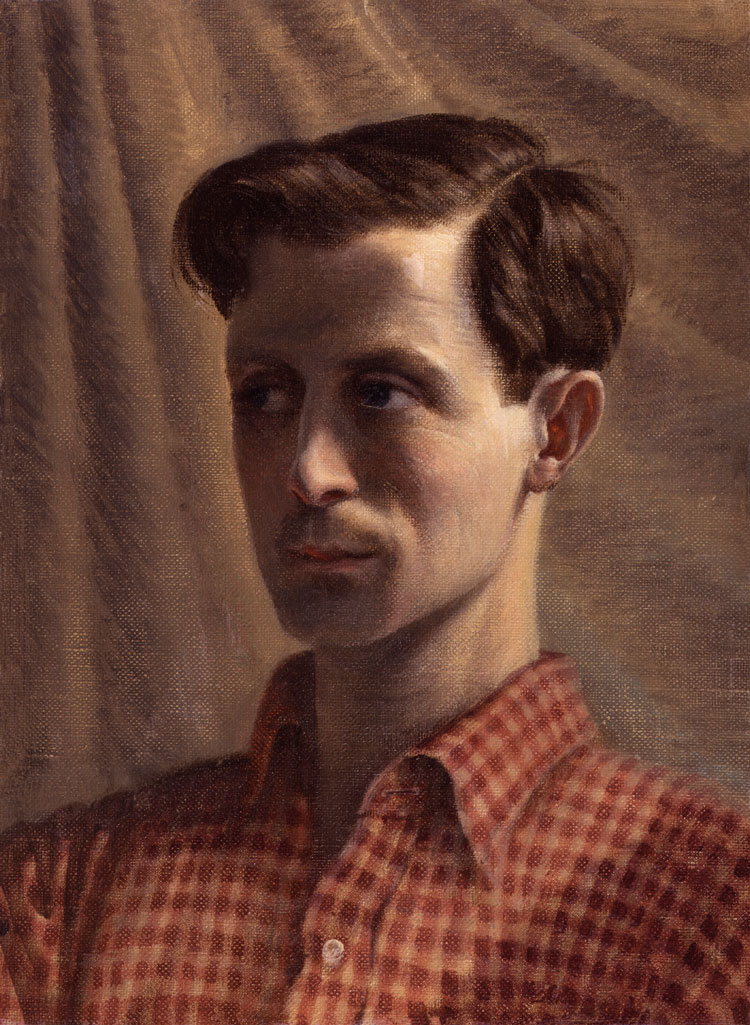 Self Portrait by Rex Whistler, 1935. National Portrait Gallery, London.