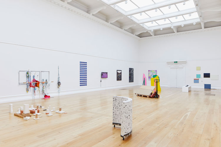 Installation view of Bloomberg New Contemporaries 2019 at South London Gallery. Photo @ studiostagg.