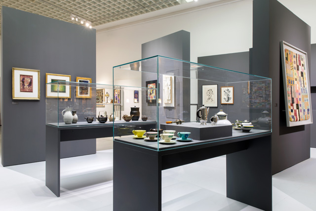 Netherlands ⇄ Bauhaus: Pioneers of a New World, exhibition view, Museum Boijmans van Beuningen, Rotterdam, 2019.