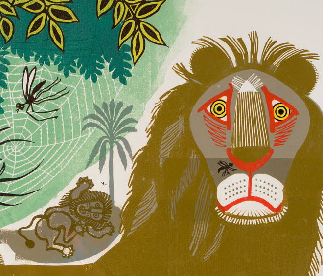 The Dulwich Picture Gallery examines the vibrant world of Edward Bawden with a typically joyous exhibition