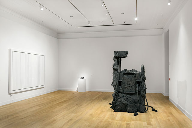 View of recent acquisitions on view at The Bass. Photograph: Zachary Balber. Courtesy of The Bass, Miami Beach.