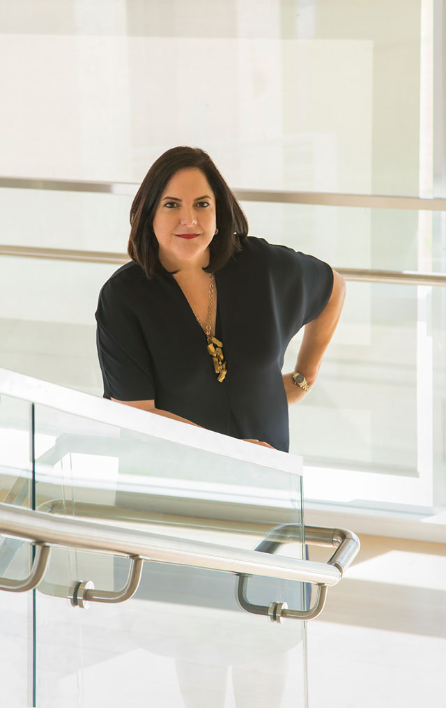 Silvia Karman Cubiñá, Executive Director and Chief Curator, The Bass. Photograph: Zachary Balber.