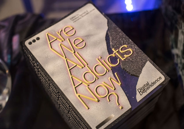Are We All Addicts Now? Edited by Vanessa Bartlett and Henrietta Bowden Jones, published by Liverpool University Press. Designed by Stefan Schafer. Photograph: Pau Ros.