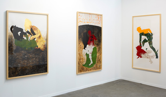 Waseem Ahmed. Installation shot courtesy of the artist and Gowen Contemporary. © Renato Ghiazza.