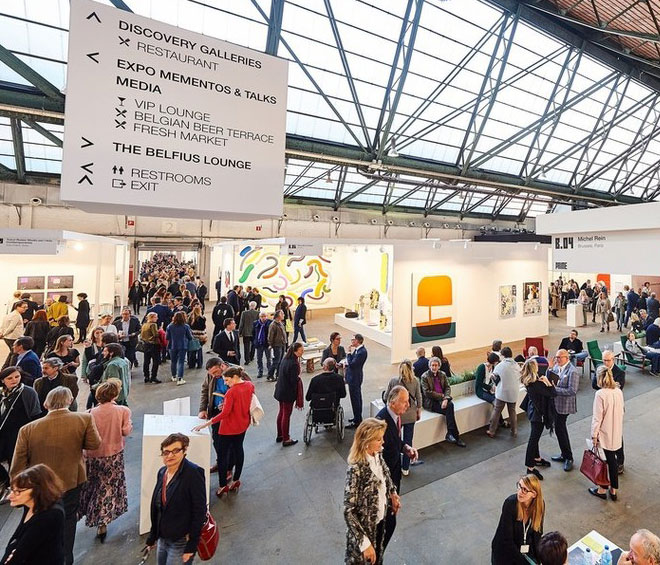 This 35th annual incarnation of Art Brussels was taglined 'From Discovery to Rediscovery'. Here is a roundup of some of the rising talent that you may have missed