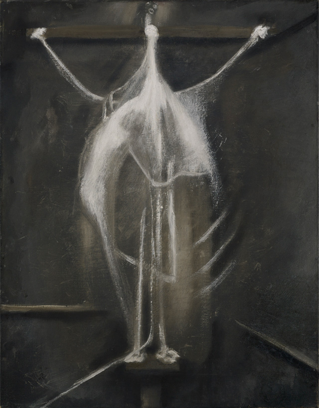 Francis Bacon. Crucifixion, 1933. Oil paint on canvas, 60.5 x 47 cm. © The Estate of Francis Bacon. All rights reserved, DACS 2016. Image courtesy Murderme Collection. Photograph: Prudence Cuming Associates Ltd.