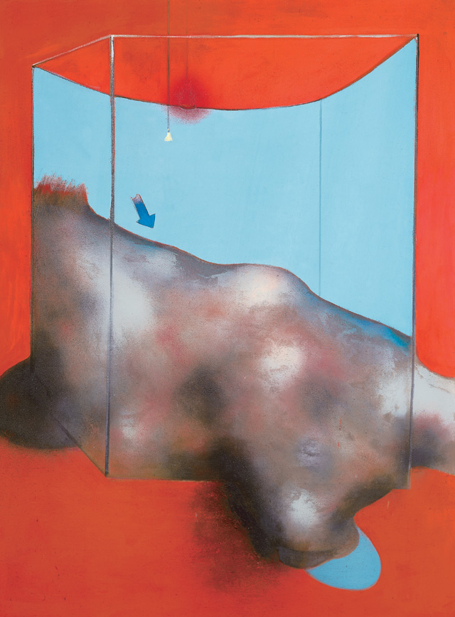 Francis Bacon. Sand Dune, 1983. Oil and pastel on canvas, 198.5 x 148.5 cm. Fondation Beyeler, Riehen/Basel, Beyeler Collection. © The Estate of Francis Bacon. All rights reserved. DACS 2016. Photograph: Peter Schibli, Basel.