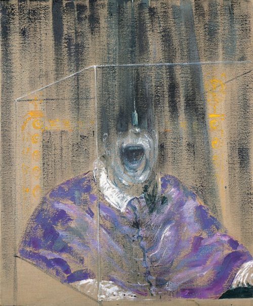 Francis Bacon. <em>Head VI</em>, 1949. Oil on canvas, 932 x 765 mm. Arts Council Collection, Southbank Centre, London © Estate of Francis Bacon. All Rights Reserved, DACS 2008